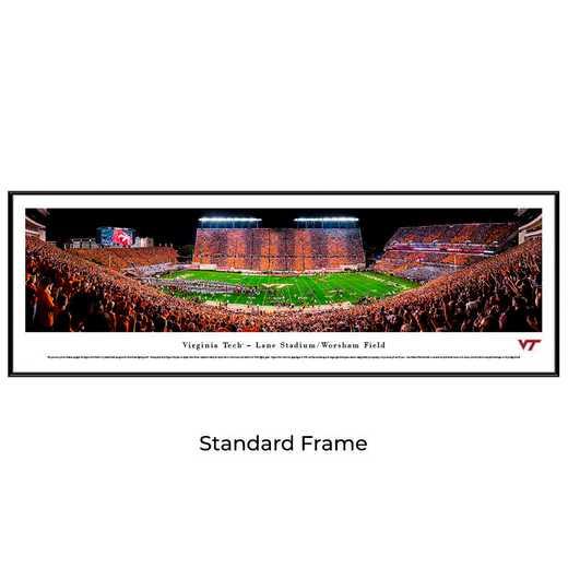 VAT4F: Virginia Tech Hokies Football #4 - Stadium Stripe  - Standard