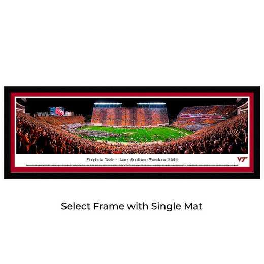 VAT4M: Virginia Tech Hokies Football #4 - Stadium Stripe  - Select