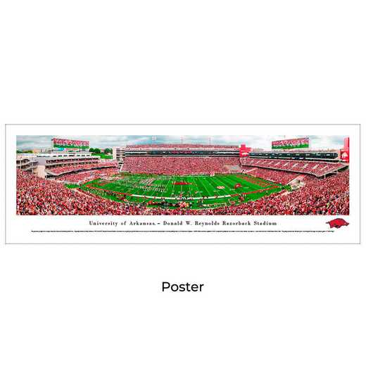UAR8: Arkansas Razorback Football #8, Unframed Poster