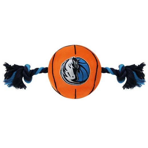 MAV-3105: DALLAS MAVERICKS NYLON BASKETBALL ROPE TOY