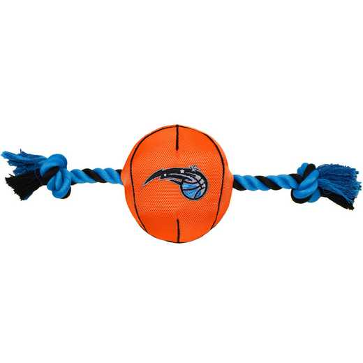 MAG-3105: ORLANDO MAGIC NYLON BASKETBALL ROPE TOY