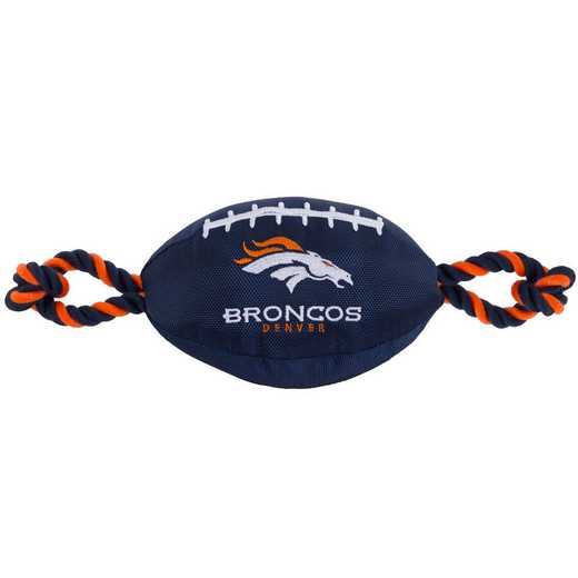 DEN-3121: DENVER BRONCOS NYLON FOOTBALL