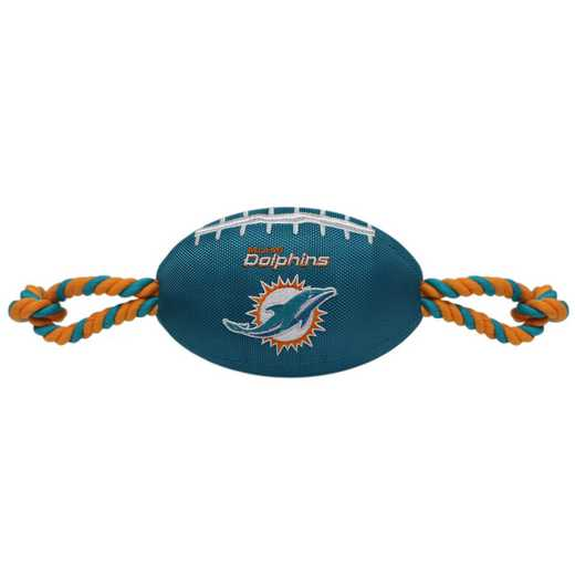 DOL-3121: MIAMI DOLPHINS NYLON FOOTBALL