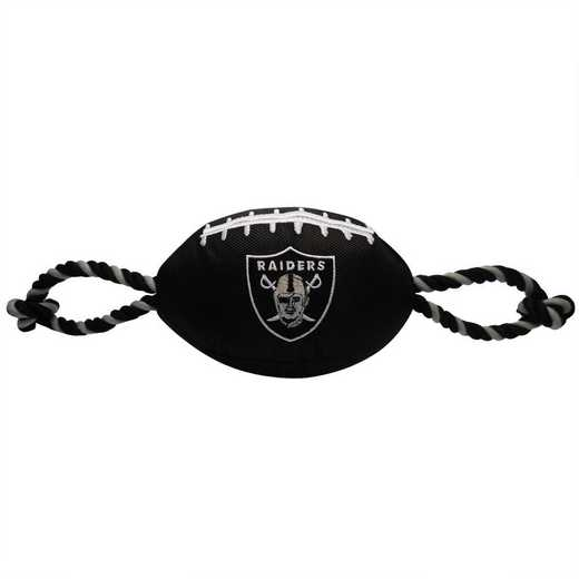 OAK-3121: OAKLAND RAIDERS NYLON FOOTBALL