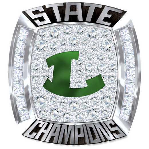 Longview Lobos 6A 2018 Championship Fan Ring
