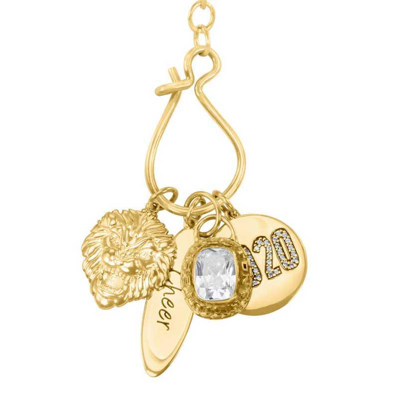 Graduation Charm Necklace by Liz James - 14K Gold