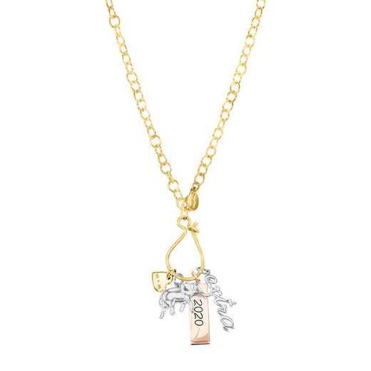 Liz James 14K Gold Custom Charm Necklace
