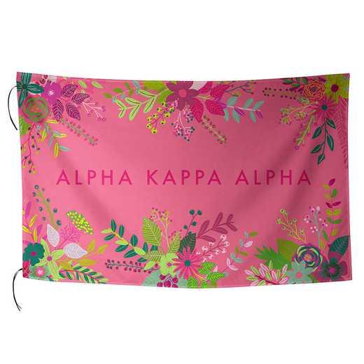 AA3018AKA: ALEX CO SUBLIMATED FLAG ALPHA KAPPA ALPHA