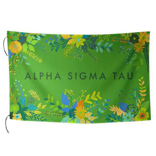 AA3018AST: ALEX CO SUBLIMATED FLAG ALPHA SIGMA TAU