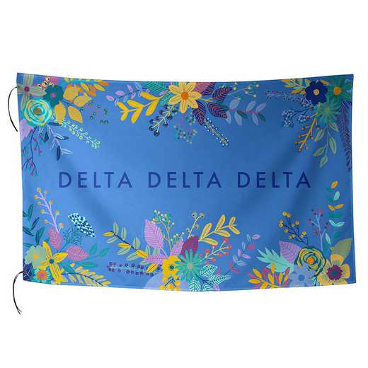 AA3018DDD: ALEX CO SUBLIMATED FLAG DELTA DELTA DELTA