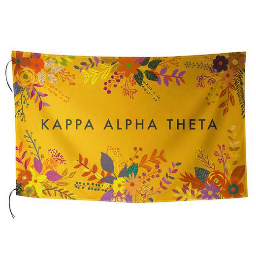 AA3018KAT: ALEX CO SUBLIMATED FLAG KAPPA ALPHA THETA