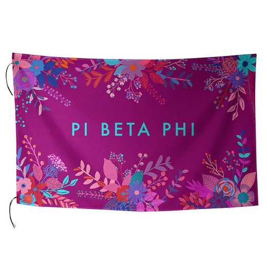 AA3018PBP: ALEX CO SUBLIMATED FLAG PI BETA PHI