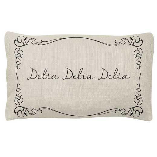 AA3024DDD: Alex Co LUMBAR PILLOW DELTA DELTA DELTA