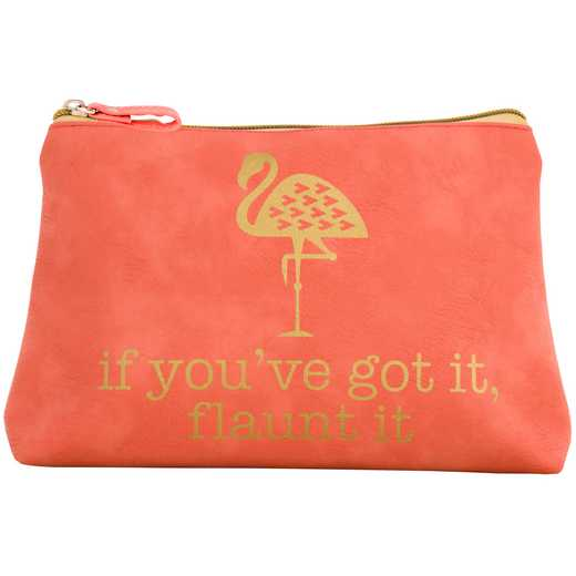 KA320863: Karma COSMETIC BAG FLAMINGO  (S17)