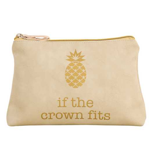KA320864: Karma COSMETIC BAG PINEAPPLE  (S17)