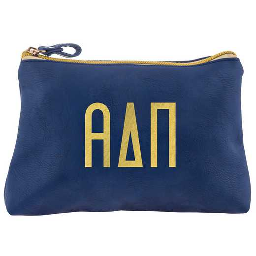 AA3010ADP: Alex Co COSMETIC BAG ALPHA DELTA PI
