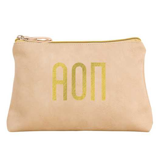 AA3010AOP: Alex Co COSMETIC BAG ALPHA OMICRON PI