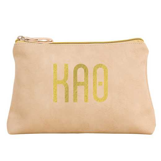 AA3010KAT: Alex Co COSMETIC BAG KAPPA ALPHA THETA