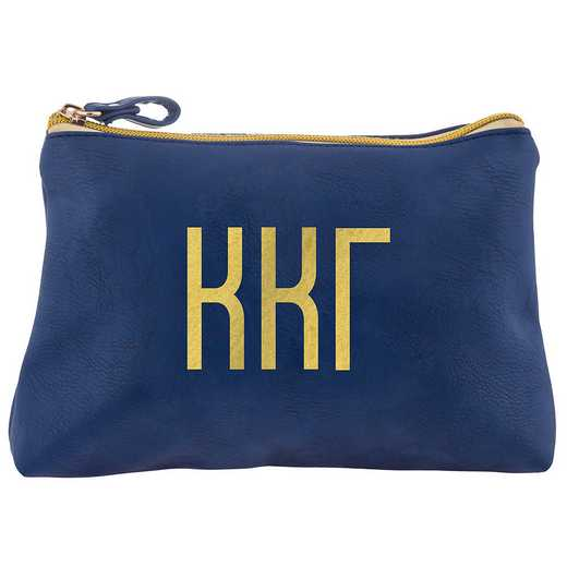 AA3010KKG: Alex Co COSMETIC BAG KAPPA KAPPA GAMMA