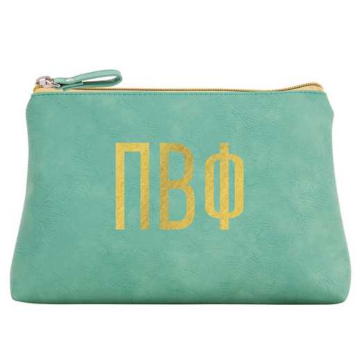 AA3010PBP: Alex Co COSMETIC BAG PI BETA PHI