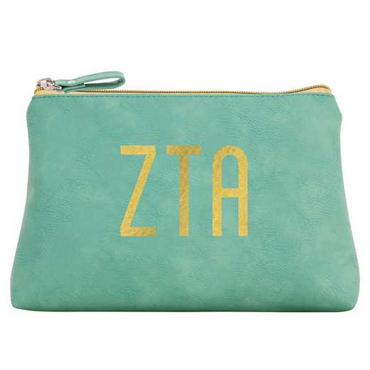 AA3010ZTA: Alex Co COSMETIC BAG ZETA TAU ALPHA