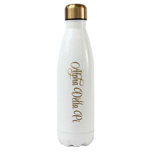 AA3001ADP: Alex Co SS WATER BOTTLE ALPHA DELTA PI (F16)