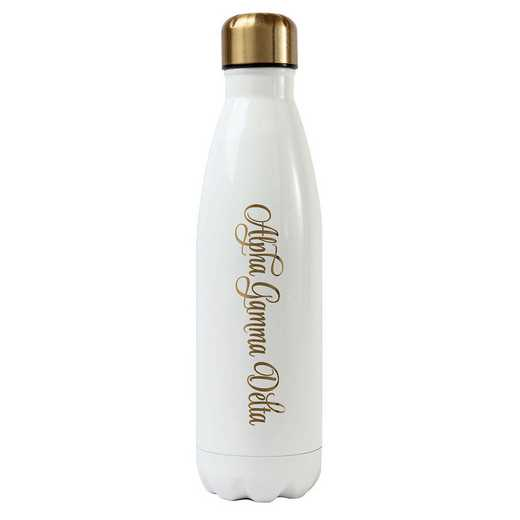 AA3001AGD: Alex Co SS WATER BOTTLE ALPHA GAMMA DELTA (F16)