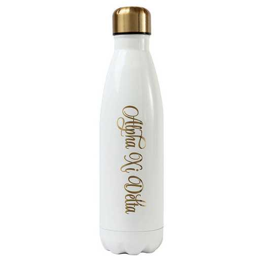 AA3001AZD: Alex Co SS WATER BOTTLE ALPHA XI DELTA (F16)