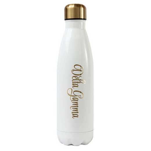 AA3001DG: Alex Co SS WATER BOTTLE DELTA GAMMA (F16)