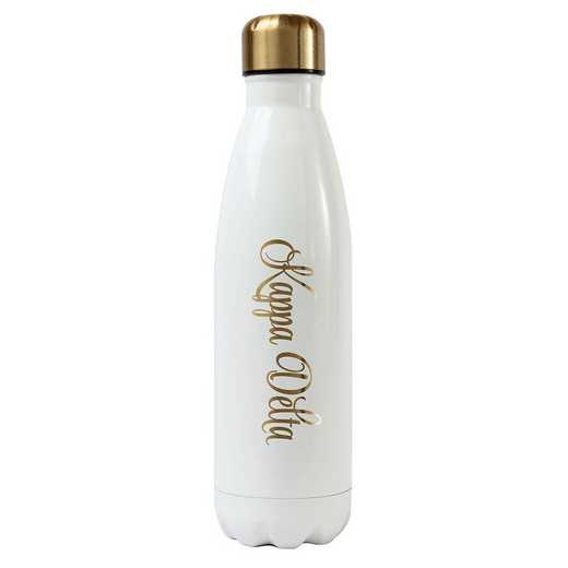 AA3001KD: Alex Co SS WATER BOTTLE KAPPA DELTA (F16)