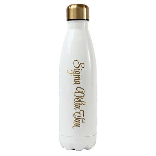 AA3001SDT: Alex Co SS WATER BOTTLE SIGMA DELTA TAU (F16)
