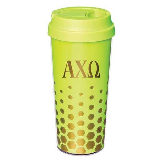 AA3002ACO: Alex Co COFFEE TUMBLER ALPHA CHI OMEGA (F16)