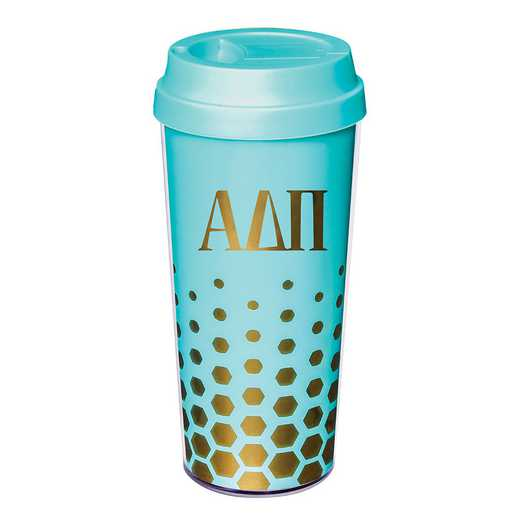 AA3002ADP: Alex Co COFFEE TUMBLER ALPHA DELTA PI (F16)