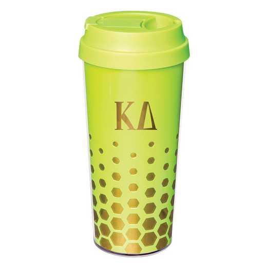 AA3002KD: Alex Co COFFEE TUMBLER  KAPPA DELTA (F16)