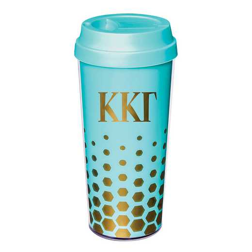 AA3002KKG: Alex Co COFFEE TUMBLER  KAPPA KAPPA GAMMA (F16)