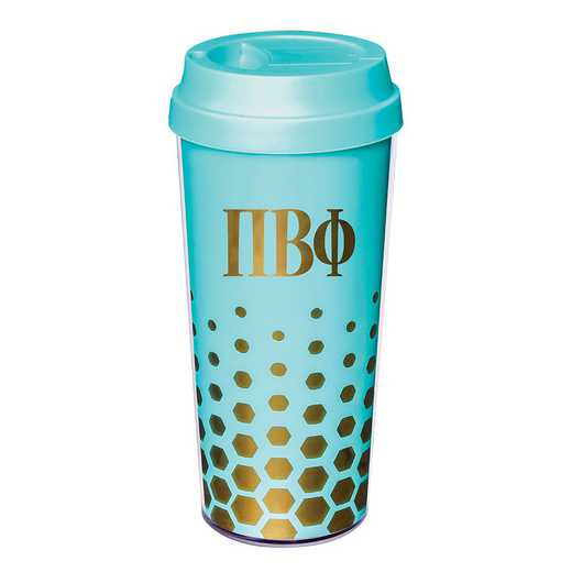 AA3002PBP: Alex Co COFFEE TUMBLER  PI BETA PHI (F16)