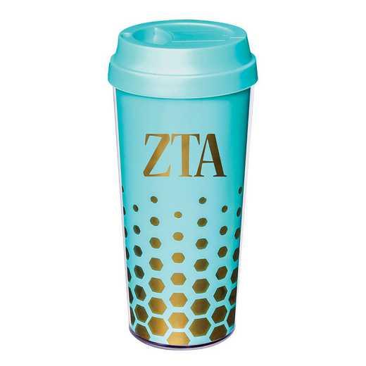 AA3002ZTA: Alex Co COFFEE TUMBLER  ZETA TAU ALPHA (F16)