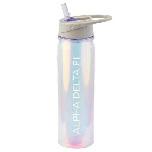 AA3023ADP: Alex Co IRIDESCENT BOTTLE  ALPHA DELTA PI (F18)