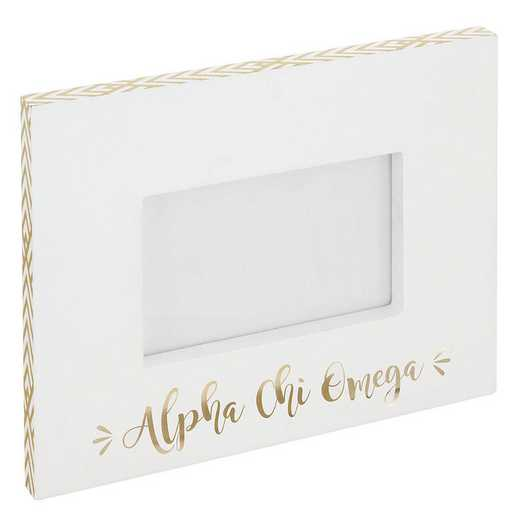 AA3019ACO: Alex Co BLOCK FRAME ALPHA CHI OMEGA