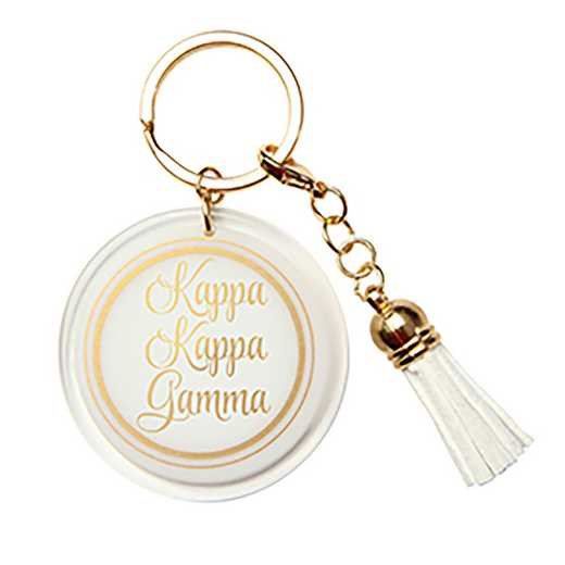 AA3005KKG: Alex Co Acrylic Key Chain