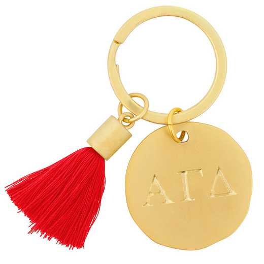 AA3020AGD: Alex Co Tassel Keychain