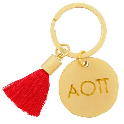 AA3020AOP: Alex Co Tassel Keychain