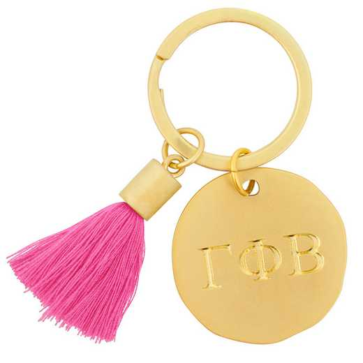 AA3020GPB: Alex Co Tassel Keychain
