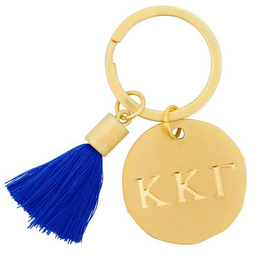 AA3020KKG: Alex Co Tassel Keychain