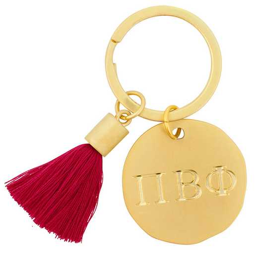 AA3020PBP: Alex Co Tassel Keychain