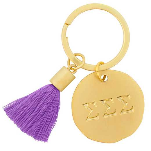 AA3020SSS: Alex Co Tassel Keychain