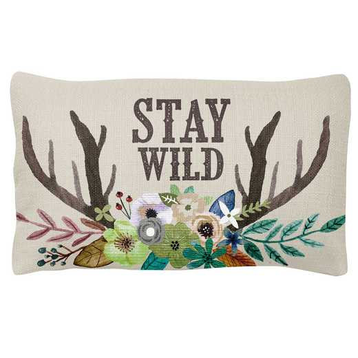 KA302111: Karma LUMBAR PILLOW DEER (F18)