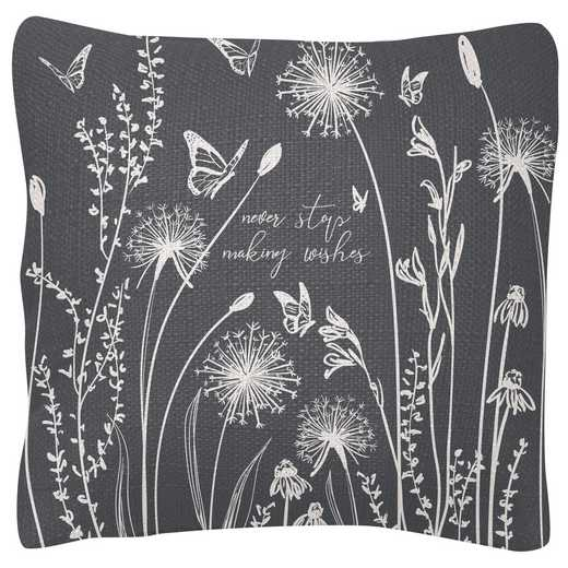 KA204831: Karma SQUARE PILLOWS DANDELION (S19)