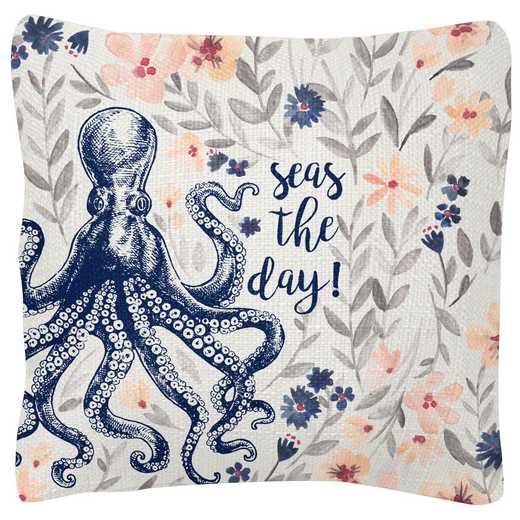 KA204844: Karma SQUARE PILLOWS OCTOPUS (S19)
