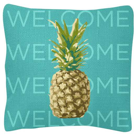 KA204864: Karma SQUARE PILLOWS PINEAPPLE  (S19)